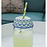 Use a cupcake liner to keep bugs out of drinks.