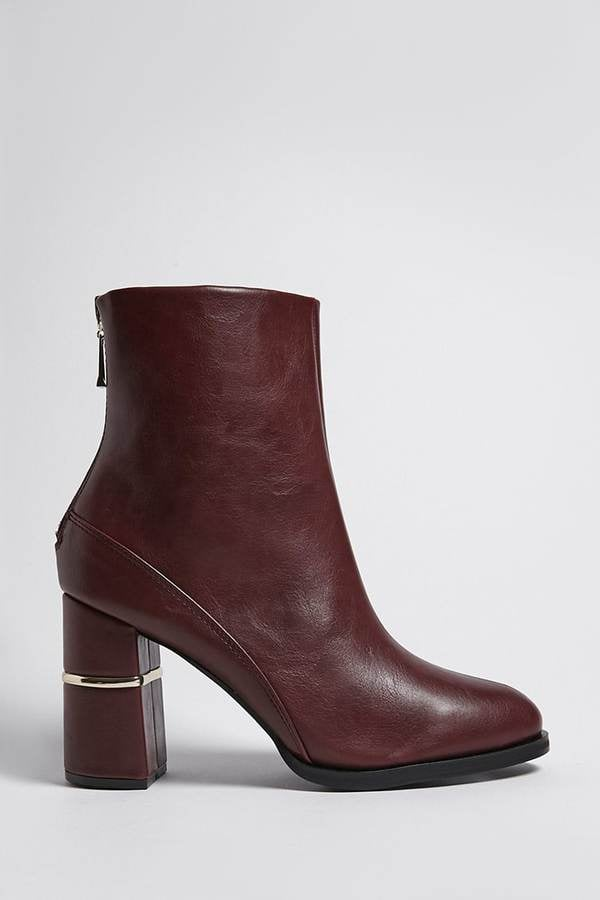 Forever 21 Faux Leather Ankle Boots  a87dfdc83983