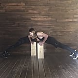 Eccentric Close Grip Elevated Box Push-Up