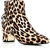 6006e823bd97 Tory Burch Laila Leopard Print Calf Hair Booties | Gwen Stefani's Boots Are  So Amazing, We're Going