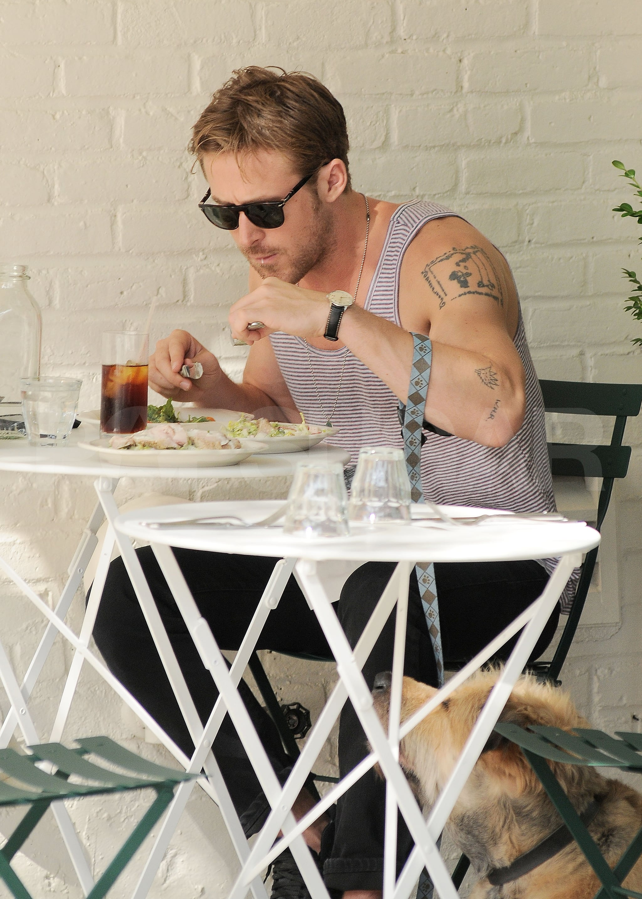Ryan Gosling at Feels in NYC.