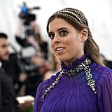 Princess Beatrice at the Met Gala in 2018