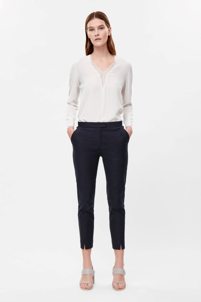 COS Textured Cotton Trousers ($99)