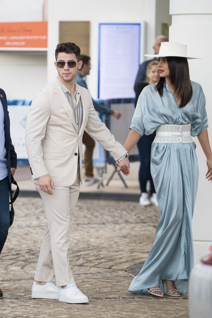 Nick Jonas and Priyanka Chopra Catch a Lovebug at the Cannes Film Festival