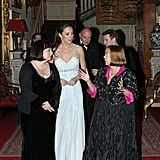 Kate Middleton mingled with guests at the In Kind Direct charity party.
