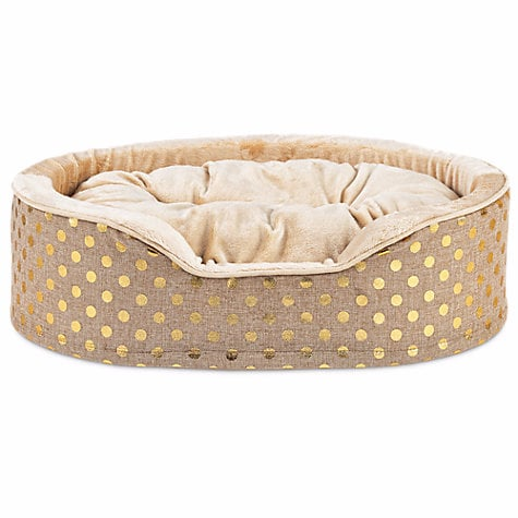 Harmony Gold Orthopedic Cuddler Dog Bed