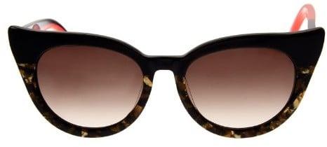 Cat Eye Preen By Thornton Bregazzi Dutchess two-tone cat-eye sunglasses ($197)
