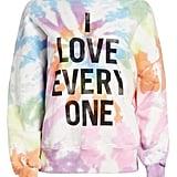 Cinq à Sept Unisex Stonewall Tie Dye Sweatshirt