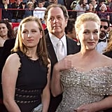 In 1999, Don and daughter Mamie accompanied Meryl to the 1999 Oscars.