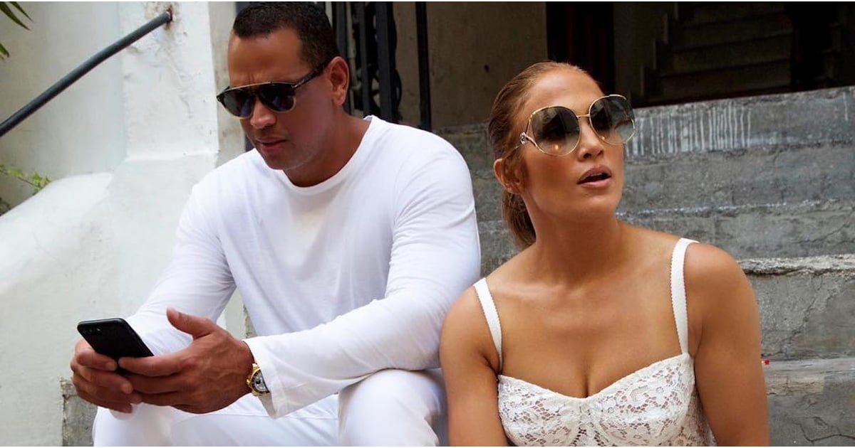 jennifer lopez u0026 39 s white lace dress in capri 2018