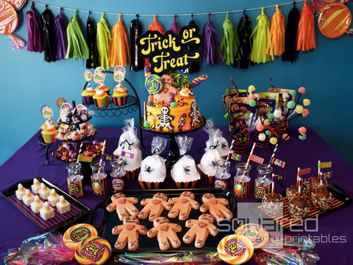Halloween Theme Party Ideas For Kids.Kid Friendly Halloween Party Ideas Popsugar Family