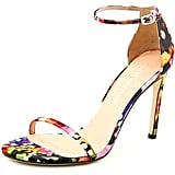 Stuart Weitzman Canvas Sandals