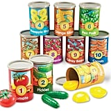 Learning Resources 1 to 10 Counting Cans Sorter Set