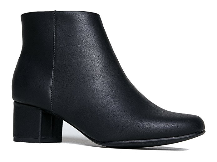 J. Adams Low Heel Ankle Boots