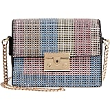 Topshop Rosie Diamante Rainbow Crossbody Bag