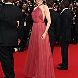 Nicole wearing Lanvin at the 2012 Cannes Film Festival.