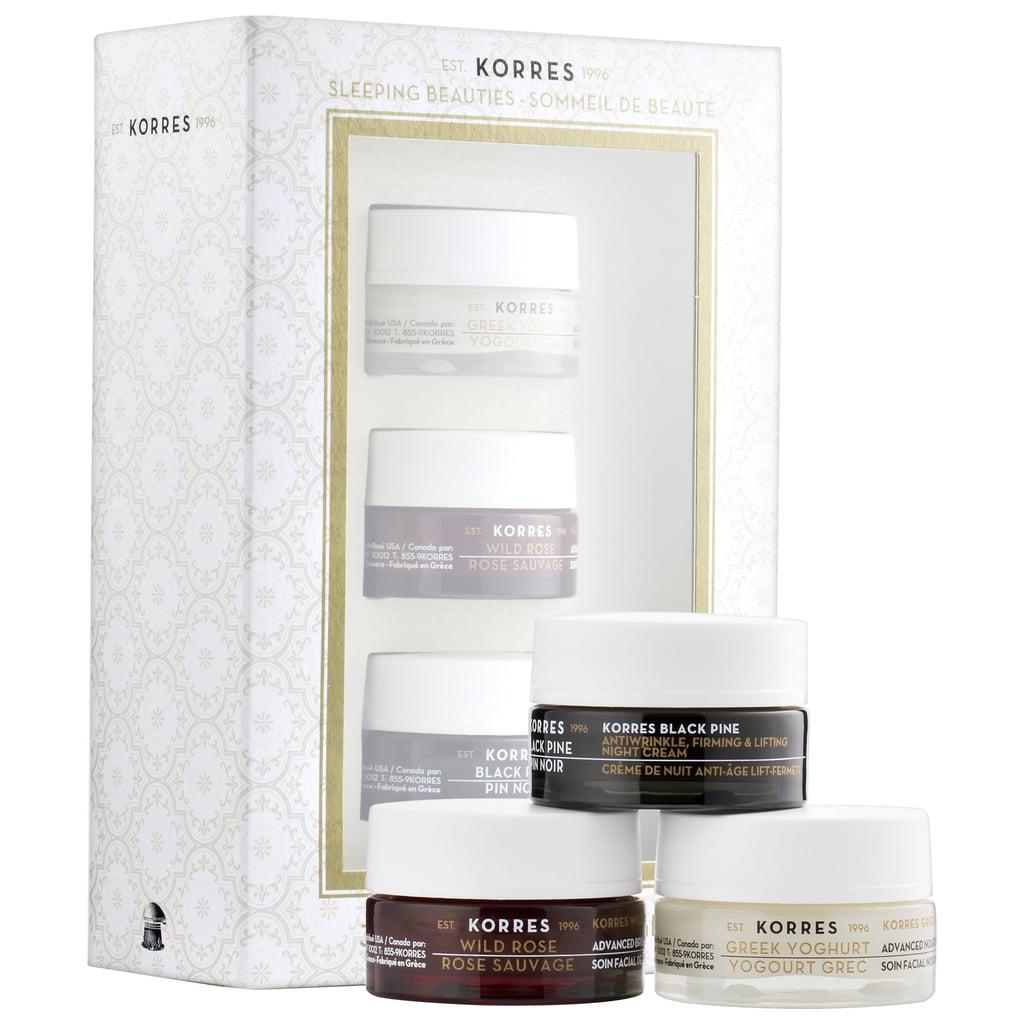 Korres Sleeping Beauties Overnight Treatment Trio