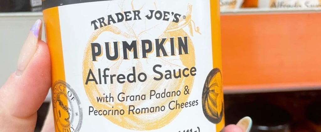 Trader Joe's Is Now Selling a New Pumpkin Alfredo Sauce