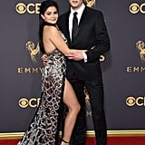 Ariel Winter Wearing Black Dress at 2017 Emmys