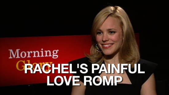 Video of Rachel McAdams Talking About Filming Love Scenes in Morning Glory