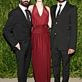 Evan Rachel Wood with Ramon Martin and Ryan Lobo of Tome