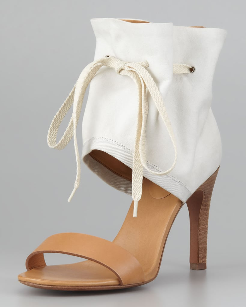 We love the laid-back elegance of these See by Chloé Ruched Ankle-Cuff Sandals ($320). They're a great alternative to nude pumps.