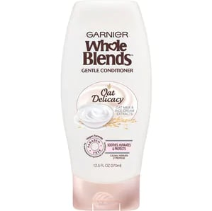 Garnier Whole Blends Gentle Conditioner Oat Delicacy For Sensitive Scalp