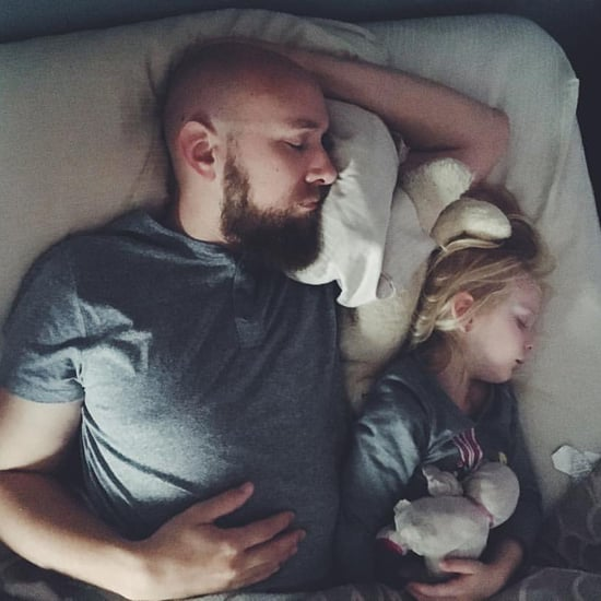 Frustrated Mom Wakes Up to See Husband and Daughter Cuddling