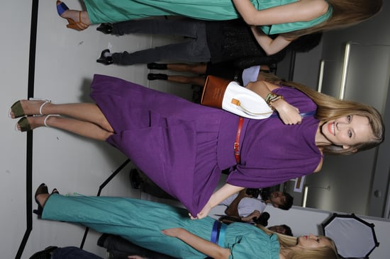 Backstage Photos from Milan Fashion Week Spring 2011: Prada, Fendi, D&G