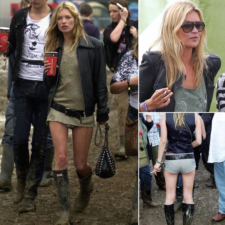 Kate Moss, Patron Saint of Glastonbury Style