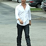 Matthew McConaughey went out to lunch on Easter Sunday in Texas.