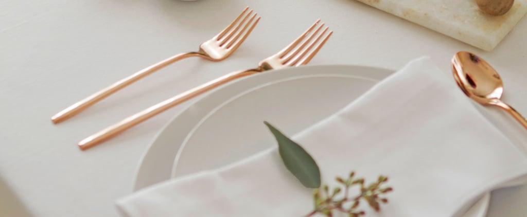 كيف تشترين أدوات المائدة المناسبة