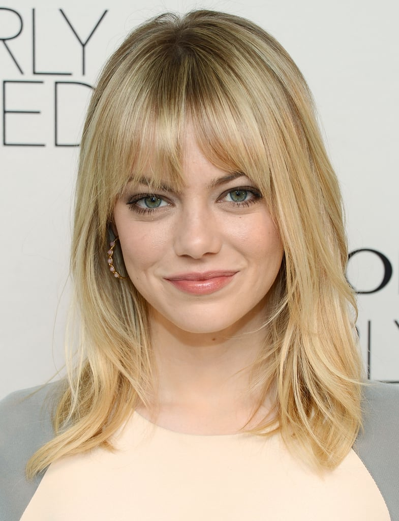 Emma Stone looked stunning at Revlon's makeup launch in NYC.