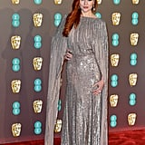 Barbara Meier at the 2019 BAFTA Awards
