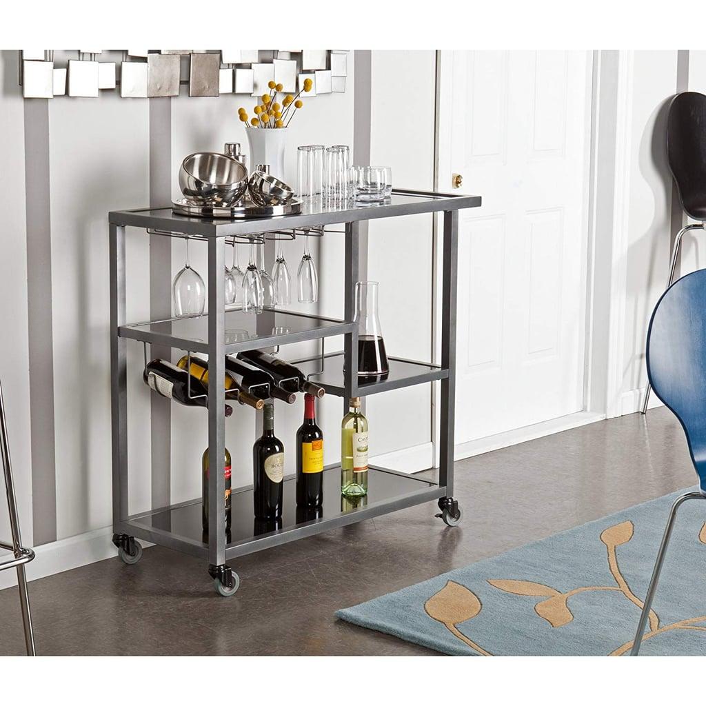 Zephs Rolling Bar Cart