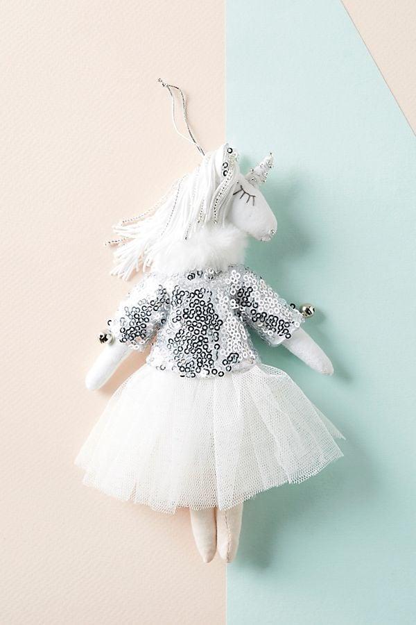 Unicorn Dancer Ornament