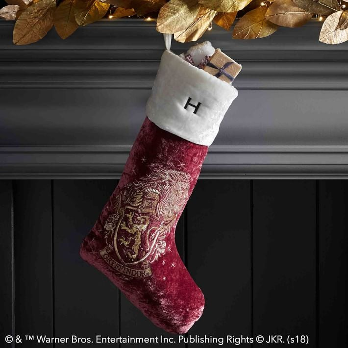 harry potter gryffindor stocking