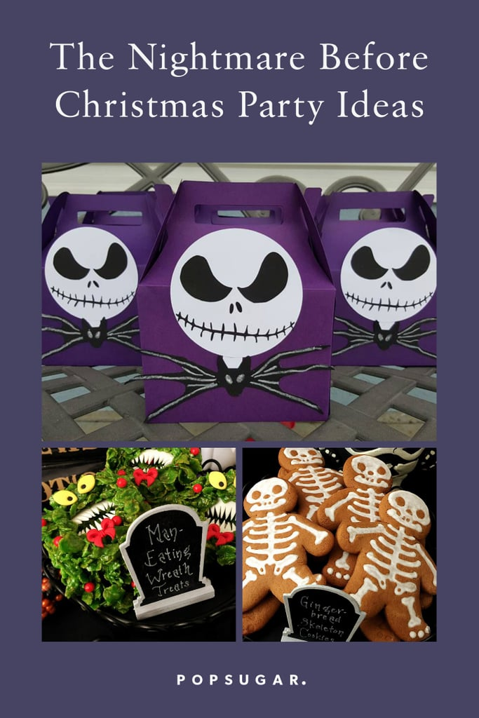 Nightmare Before Christmas Birthday Party Ideas.The Nightmare Before Christmas Party Ideas Popsugar Family