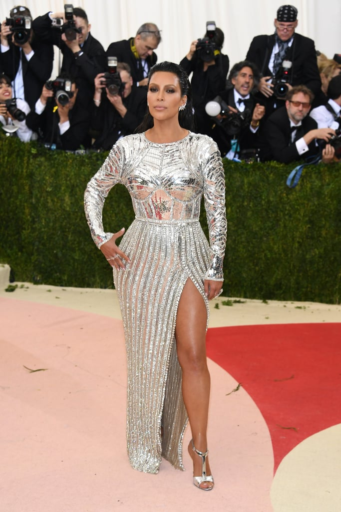 Kim Kardashian's Balmain Dress at the Met Gala 2016