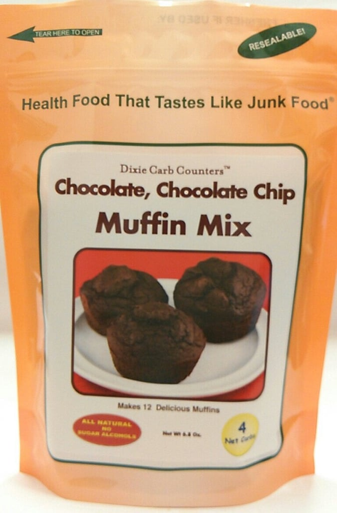Dixie Carb Counters Chocolate, Chocolate Chip Muffin Mix
