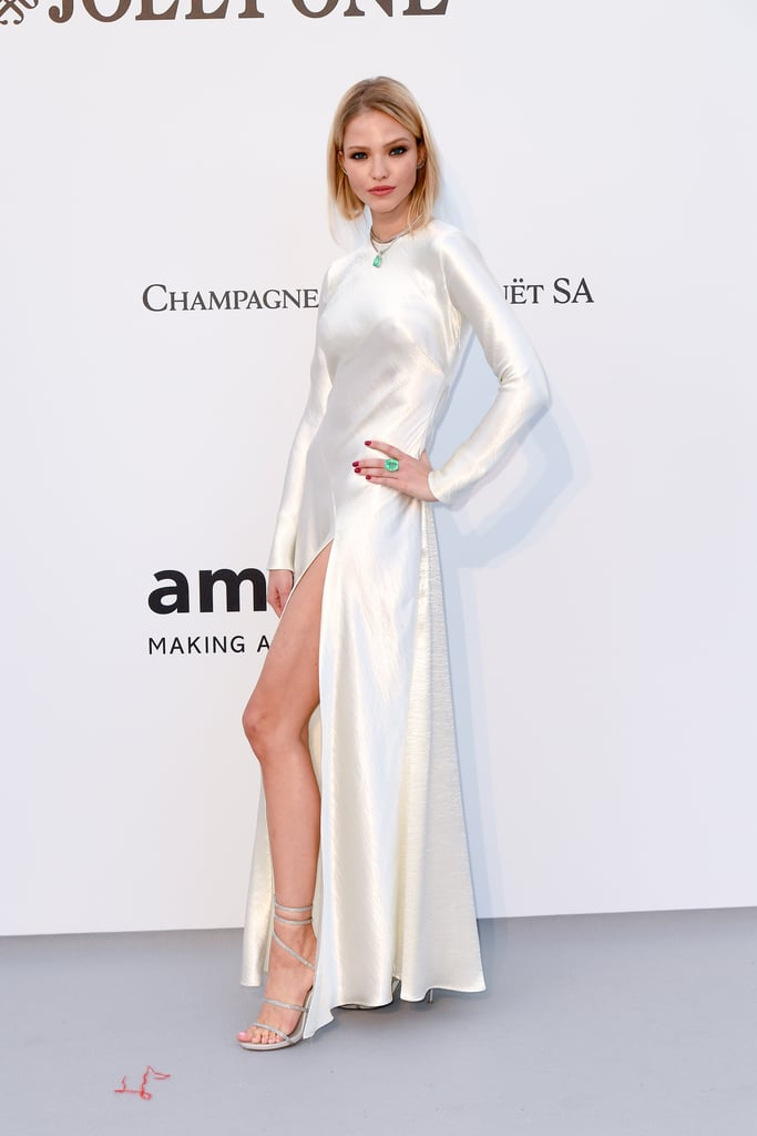 Sasha Luss at the amfAR Cannes Gala