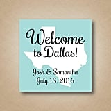 Wedding Welcome Stickers