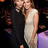Karlie Kloss and Jennifer Lopez made one hot duo at the People Magazine Awards in Beverly Hills.
