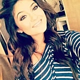 Kylie Jenner shared a smiley photo. Source: Instagram user kyliejenner