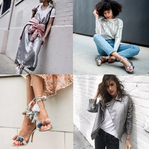 Currently Trending: Metallics