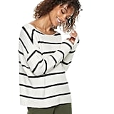 POPSUGAR at Kohl's collection Striped Oversized Sweater