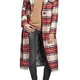 NVLT Plaid Long Coat