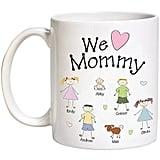 Personalized Heart Character Coffee Mug
