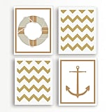 Nautical Art Print Set ($40 for four)