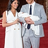 Prince Harry and Son Archie's Royal Debuts Pictures